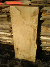 Timber sawn to customer specification